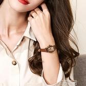 julius聚利時女表復古女生手錶女學生韓版簡約時尚小巧真皮帶表 米娜小鋪