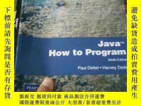 二手書博民逛書店Java罕見How to Program, Internatio