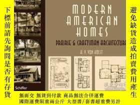 二手書博民逛書店Modern罕見American Homes - Prairie
