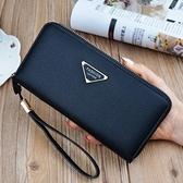 錢夾-錢包女長款手拿包2021新款簡約時尚手機包多功能大容量皮夾錢夾