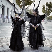 萬聖節服飾 萬聖節兒童服裝女童沉睡魔咒cosplay幼兒園小女巫角色裝扮演出服