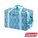 Coleman 25L 藍葉圖騰保冷袋 CM-22219 / 保冰袋 行動冰箱 冰桶 手提袋 露營 登山