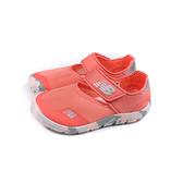 New Balance 運動鞋 水陸 魔鬼氈 粉橘色 童鞋 YO208PK2-W no952