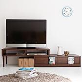 收納櫃 置物櫃 電視櫃 茶几【I0040】空間創意伸縮式多功能電視櫃(二色) 收納專科