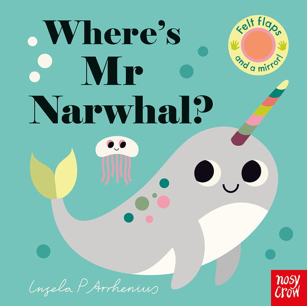 Where's Mr Narwhal? 獨角鯨在哪裡?不織布翻翻書