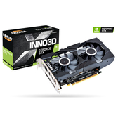 【9折專區】 Inno3D 映眾 Geforce GTX1650 TWIN X2 OC GDDR6 4G 顯示卡 (N16502-04D6X-1177VA25)