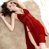 中大尺碼情趣睡衣蕾絲吊帶睡裙性感睡衣騷情趣內衣成人冰絲 nm4970【VIKI菈菈】
