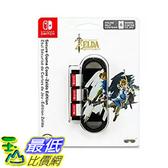[106美國直購] PDP 任天堂 Nintendo Switch Secure Game Case 薩爾達版 Zelda Edition
