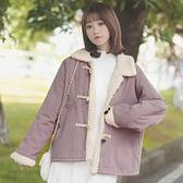 羊羔毛棉服外套女寬鬆棉襖學生短款加絨加厚棉衣冬 【新春特惠】