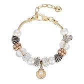 串珠手鍊-精緻鑲鑽水晶飾品歐美時尚女配件73kc47【時尚巴黎】