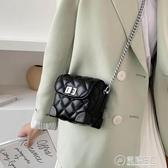 網紅夏天小香風錬條迷你手機包女2020新款單肩小方包側背包盒子包 雙十一全館免運