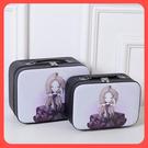 韓國旅行化妝包大容量手提便攜多功能可愛小號收納包洗漱品箱簡約 降價兩天