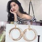 《Caroline》★韓國熱賣造型時尚耳...
