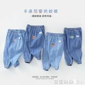 嬰兒繡花牛仔褲長褲子空調褲夏裝男童1歲3女童寶寶幼兒Y6038-Ballet朵朵