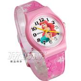 Disney 迪士尼 時尚卡通手錶 小美人魚 公主 兒童手錶 數字 女錶 粉紅色 D小美人魚大P1