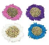 娃娃屋樂園~二次進場-夢幻羽毛-60支金莎巧克力花束/分享花束 每束2000元/抽取式花束/第二次進場
