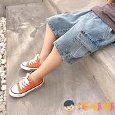 男童牛仔短褲外穿寬松潮寶寶工裝褲兒童夏裝薄款褲子【淘嘟嘟】