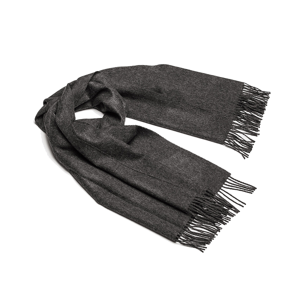 Alpaka Shawl Exclusive 100% 65x200cm 極致系列 素面單色 羊駝毛 披肩 / 圍巾 - 2019 秋冬仕樣(木炭深灰)