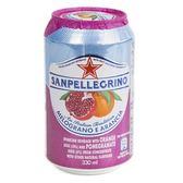 義大利 S.Pellegrino 聖沛黎洛氣泡水果水 柑橘紅石榴口味 330ml