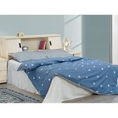 床架 AT-386-1A 白雪松5尺雙人床 (床頭+床底)(不含床墊) 【大眾家居舘】