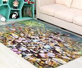 地毯港虹 年輪圓形地毯電腦椅吊籃墊子田園宜家風創意薄北歐美式 DF  二度3C