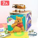 【居家cheaper】迪士尼正版授權 環保無毒紙家具 《單門櫃2入》小熊維尼 兒童書櫃 書房家具 Disney