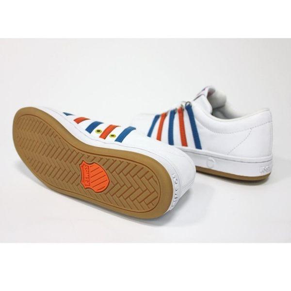 【K-SWISS】Classic 88 Heritage 休閒運動鞋-男-白/藍/橘(06046-103)