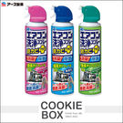日本 Earth 興家安速 冷氣 清潔 噴霧 420ml 無香 清新森林 免沖洗 抗菌 除臭 清洗劑 *餅乾盒子*