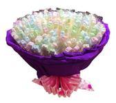 娃娃屋樂園~簡單愛。7朵花.棉花糖串燒-150支 每束1450元/喜糖盒.創意喜糖/婚禮小物