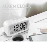 電子鬧鐘學生用靜音創意簡約臥室床頭鈴夜光兒童數字(快速出貨)