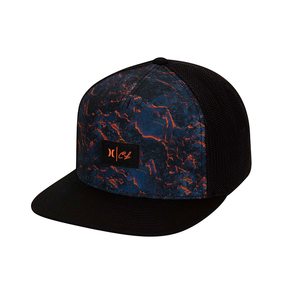 Hurley M CL LAVA HAT BLACK 棒球帽(黑)