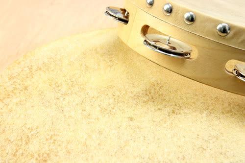 【敦煌樂器】CADESON TO11-10 10吋單排繃皮鈴鼓