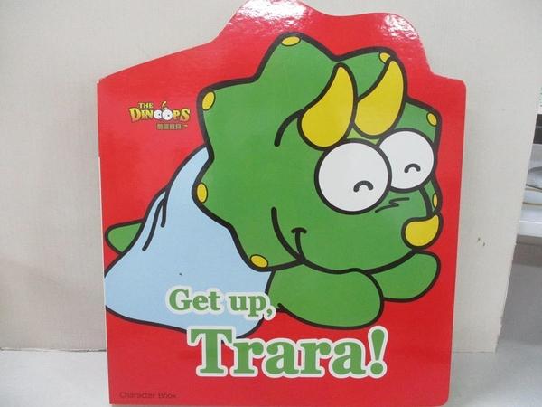 【書寶二手書T1/少年童書_FPQ】酷龍寶貝歡樂學美語-Get up, Trara!