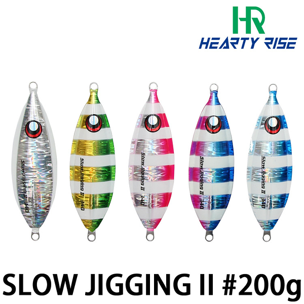 漁拓釣具 HR SLOW JIGGING II #200g [慢速鐵板]