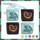 【南紡購物中心】【Stasher 】STASHER 白金矽膠密封袋 無限列車特別版 水之舒肥