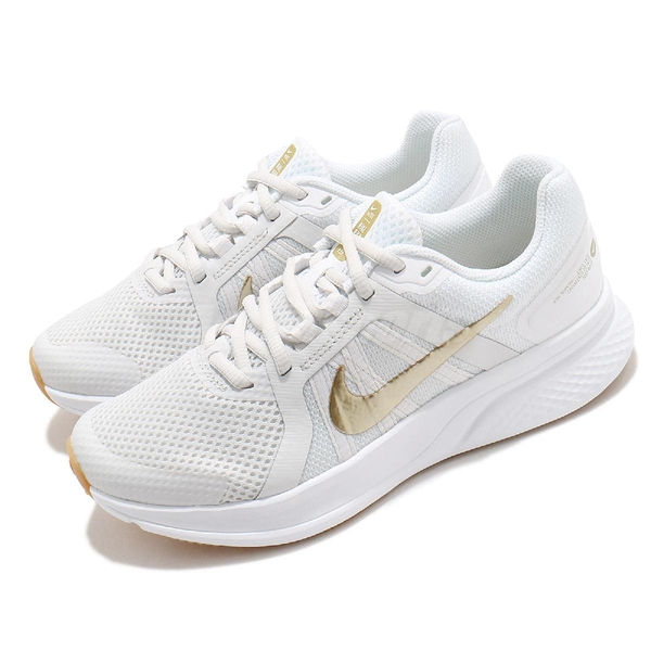 Nike 慢跑鞋 Wmns Run Swift 2 白 金 女鞋 基本款 路跑 運動鞋 【ACS】 CU3528-010
