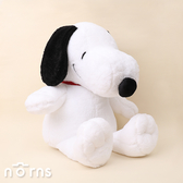 【Peanuts系列玩偶18吋經典坐姿Snoopy】Norns 正版授權 史努比 絨毛娃娃 玩具