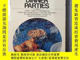 二手書博民逛書店Betty罕見Crocker s DINNER PARTIES(英文原版)Y7353 Betty Crocke