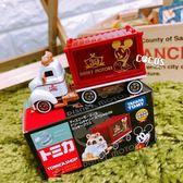 正版授權 米奇 白金米奇貨櫃車 多美小汽車 小車 COCOS TO325