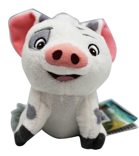 【卡漫城】 噗噗 吊飾 12cm 絨毛 ㊣版 Pua 小豬 Moana 寵物 海洋奇緣 禮物 豬包 鑰匙圈 娃娃 布偶