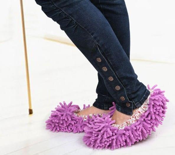 [協貿國際]  拖地鞋套懶人鞋套擦地拖鞋套 (4個價)