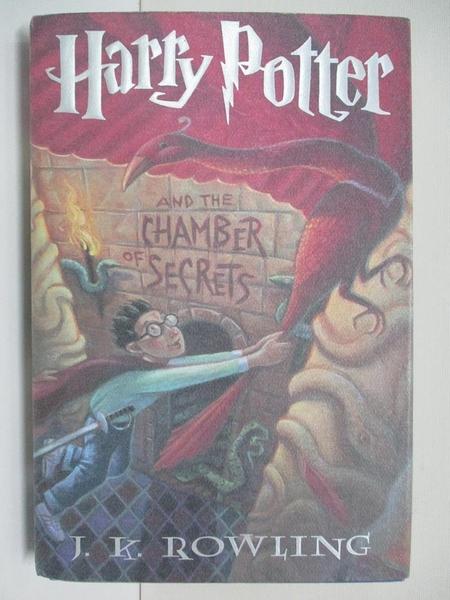 【書寶二手書T5/一般小說_E1D】Harry Potter and the Chamber of Secrets_J.K. Rowling