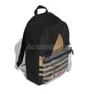 adidas 後背包 Adicolor Large Trefoil Classic BP 黑 金 男女款 運動休閒 【ACS】 FT8913