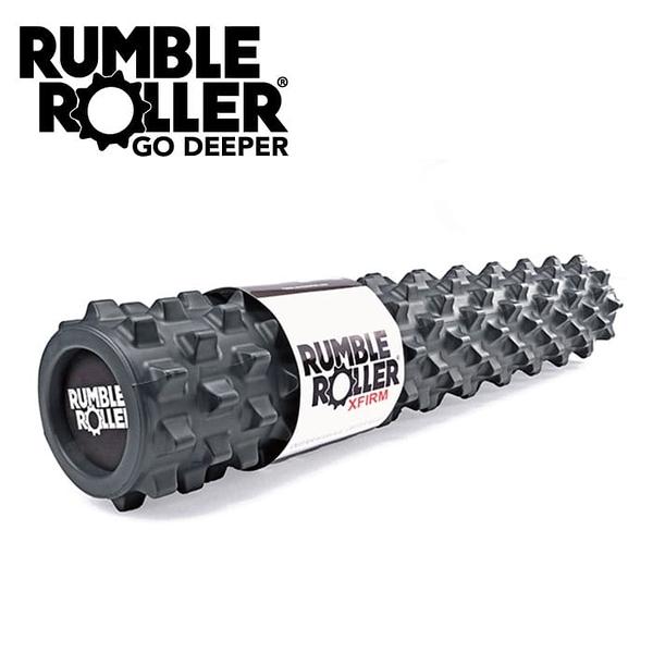 """Rumble Roller 狼牙棒 深層組織 按壓放鬆 滾輪《30""""黑色加強版》(美國進口) 筋膜按摩"""