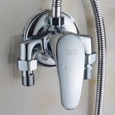 水龍頭 全銅明裝冷熱水龍頭淋浴花灑套裝 太陽能電熱水器明管混水閥開關 星河光年