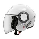 【東門城】ASTONE DJ12 素色 (白) 半罩式安全帽 3/4罩 三分之四罩 小帽體