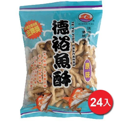 淡水德裕原味魚酥150G*24【愛買】