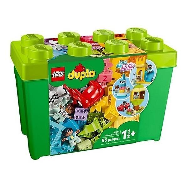 【南紡購物中心】【LEGO 樂高積木】得寶 Duplo系列-豪華顆粒盒10914