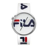 【FILA 斐樂】/LOGO造型手錶(男錶 手錶 Watch)/38-161-101/台灣總代理原廠公司貨兩年保固