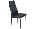 餐椅 SB-930-6 馬可黑皮餐椅 【...